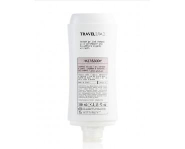Gel cheveux et corps 330ml - Travel Care -
