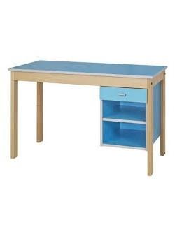 Table bureau 1 niche 1 tiroir