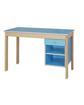 Table bureau 1 niche 1 tiroir