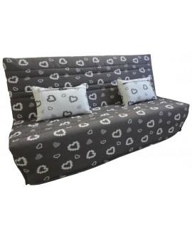 Canapé clic-clac Tissu