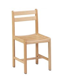 Chaise en hêtre massif