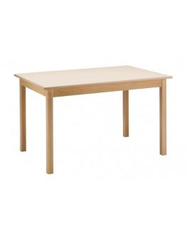 Table plateau hêtre massif