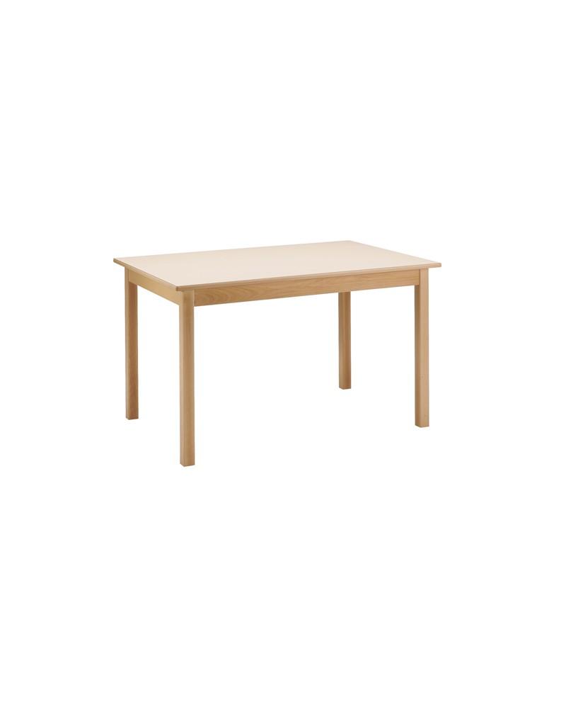 table collectivit s en bois h tre et stratifi galis literie. Black Bedroom Furniture Sets. Home Design Ideas